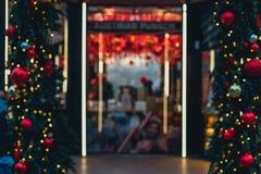 Διακοσμήσεις Χριστουγέννων στη Μόσχα Στοκ εικόνα με δικαίωμα ελεύθερης χρήσης