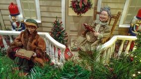 Διακοσμήσεις Χριστουγέννων, όπως το κουδούνι Χριστουγέννων Στοκ εικόνες με δικαίωμα ελεύθερης χρήσης