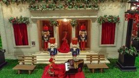 Διακοσμήσεις Χριστουγέννων, όπως το κουδούνι Χριστουγέννων Στοκ Εικόνες