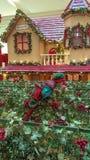 Διακοσμήσεις Χριστουγέννων, όπως το κουδούνι Χριστουγέννων Στοκ Φωτογραφίες