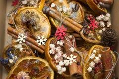 Διακοσμήσεις Χριστουγέννων Στοκ Φωτογραφίες