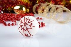 Διακοσμήσεις χριστουγεννιάτικων δέντρων στοκ φωτογραφίες