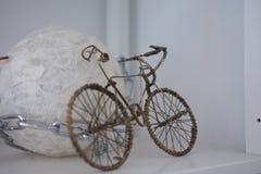 Διακοσμήστε το ποδήλατο στο σπίτι στοκ εικόνα