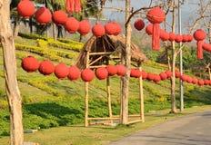 Διακοσμήστε το φανάρι κινέζικα εγγράφου στοκ εικόνα με δικαίωμα ελεύθερης χρήσης
