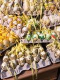 Διακοσμημένα αυγά στο Σάλτζμπουργκ στοκ εικόνες με δικαίωμα ελεύθερης χρήσης