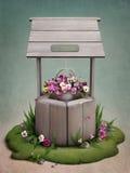 διακοσμημένα λουλούδι&alp Στοκ Εικόνες