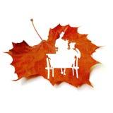 Διακοσμημένα φύλλα στοκ φωτογραφίες