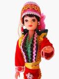 διακοσμημένη κούκλα στοκ εικόνα με δικαίωμα ελεύθερης χρήσης