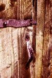 Διακοσμημένη λαβή πορτών Στοκ Εικόνες