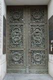 Διακοσμημένη πόρτα στο Βερολίνο στοκ εικόνες με δικαίωμα ελεύθερης χρήσης