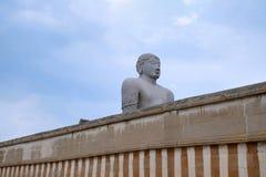 Διακοσμημένη πύλη στο ναό Jain σύνθετο, Hill Chandragiri, Shravanbelgola, Karnataka στοκ εικόνες με δικαίωμα ελεύθερης χρήσης