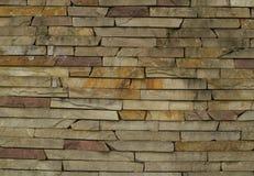 Διακοσμημένος ο Stone τοίχος Στοκ φωτογραφία με δικαίωμα ελεύθερης χρήσης