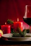 διακοσμημένος Χριστούγ&epsil Στοκ φωτογραφία με δικαίωμα ελεύθερης χρήσης