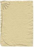 διακοσμημένο έγγραφο Στοκ φωτογραφία με δικαίωμα ελεύθερης χρήσης