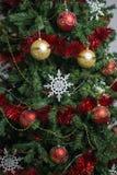 Διακοσμημένο δέντρο Chraistmas Στοκ φωτογραφία με δικαίωμα ελεύθερης χρήσης