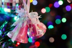 Διακοσμημένο δέντρο Chrismas, πεύκο, νέο έτος στοκ εικόνα με δικαίωμα ελεύθερης χρήσης