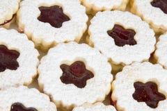 διακοσμημένο μπισκότα έγγ&r Στοκ εικόνα με δικαίωμα ελεύθερης χρήσης