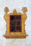 Διακοσμημένο παράθυρο κάστρων Στοκ Εικόνα