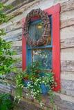 διακοσμημένο παράθυρο Στοκ Εικόνες