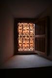 διακοσμημένο παράθυρο Στοκ Φωτογραφία