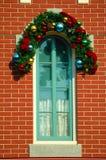 διακοσμημένο παράθυρο Στοκ φωτογραφία με δικαίωμα ελεύθερης χρήσης