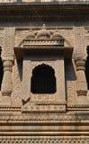 Διακοσμημένο παράθυρο Maheshwar Στοκ Φωτογραφίες