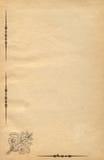 διακοσμημένο πλαισιωμένο έγγραφο Στοκ Εικόνα