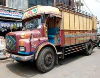 διακοσμημένο truck Στοκ Φωτογραφία