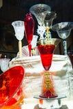 Διακοσμητικά αντικείμενα στο γυαλί Murano στοκ εικόνες