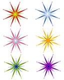 διακοσμητικά αστέρια Χρι&si Στοκ Φωτογραφίες