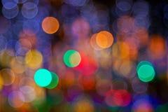 Διακοσμητικά ελαφριά σημεία Sparkly Στοκ Φωτογραφίες