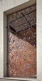 Διακοσμητικά κάγκελα επεξεργασμένου σιδήρου Στοκ Εικόνες
