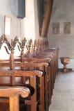 Διακοσμητικά καθίσματα, μοναστήρι Arkadi, Κρήτη Στοκ εικόνες με δικαίωμα ελεύθερης χρήσης