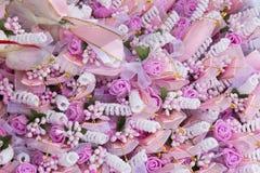 Διακοσμητικά λουλούδια για το γάμο Στοκ φωτογραφίες με δικαίωμα ελεύθερης χρήσης