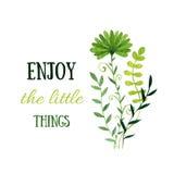 Διακοσμητικά λουλούδια Watercolor Πρόσκληση, γενέθλια και ευχετήρια κάρτα απεικόνιση αποθεμάτων