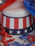 Διακοσμητικά πατριωτικά καπέλα Στοκ εικόνα με δικαίωμα ελεύθερης χρήσης