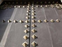 Διακοσμητικά στηρίγματα ορείχαλκου στοκ φωτογραφία με δικαίωμα ελεύθερης χρήσης