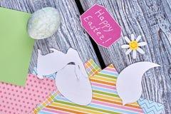 Διακοσμητικά στοιχεία Papercut Στοκ φωτογραφία με δικαίωμα ελεύθερης χρήσης