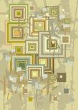 διακοσμητικά τετράγωνα ανασκόπησης διανυσματική απεικόνιση