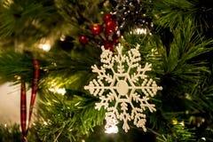 διακοσμητικά snowflakes Στοκ φωτογραφία με δικαίωμα ελεύθερης χρήσης