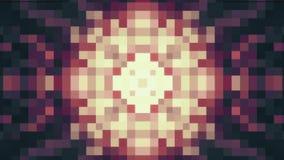 Διακοσμητικές γεωμετρικές φραγμών καλειδοσκόπιων αστεριών κινούμενες σχεδίων νέες ποιοτικές αναδρομικές εκλεκτής ποιότητας διακοπ ελεύθερη απεικόνιση δικαιώματος