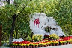 Διακοσμητικές πέτρες της Κίνας ` s Στοκ Φωτογραφίες