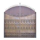 Διακοσμητικές πύλες επεξεργασμένου σιδήρου Στοκ Εικόνες