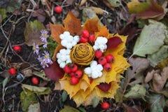 Διακοσμητική ανθοδέσμη φθινοπώρου Στοκ φωτογραφία με δικαίωμα ελεύθερης χρήσης