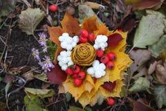 Διακοσμητική ανθοδέσμη φθινοπώρου Στοκ εικόνα με δικαίωμα ελεύθερης χρήσης