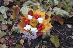 Διακοσμητική ανθοδέσμη φθινοπώρου Στοκ φωτογραφίες με δικαίωμα ελεύθερης χρήσης