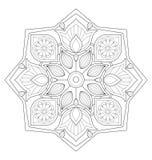 Διακοσμητική απεικόνιση mandala απεικόνιση αποθεμάτων
