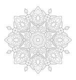 Διακοσμητική απεικόνιση mandala διανυσματική απεικόνιση
