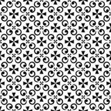 Διακοσμητική ασιατική μαύρη Floral όμορφη βασιλική εκλεκτής ποιότητας ταπετσαρία σύστασης σχεδίων ανοίξεων αφηρημένη άνευ ραφής Στοκ φωτογραφίες με δικαίωμα ελεύθερης χρήσης