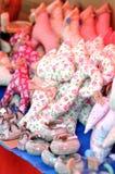 Διακοσμητική γάτα μαξιλαριών Στοκ εικόνες με δικαίωμα ελεύθερης χρήσης